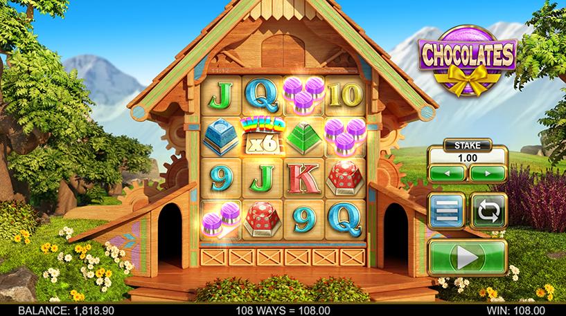 Chocolates Slot Screenshot 3