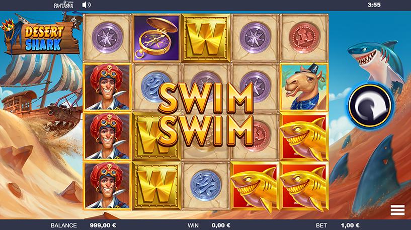 Desert Shark Slot Screenshot 3