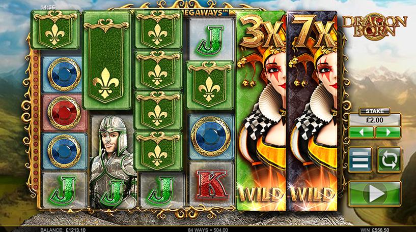 Dragon Born Megaways Screenshot 2