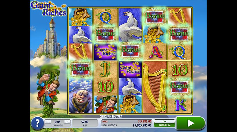 Giant Riches Slot Screenshot 1