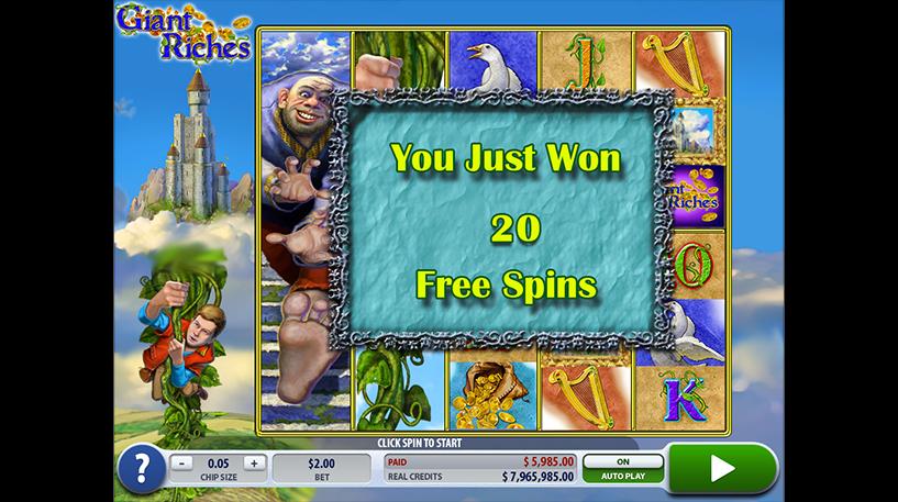 Giant Riches Slot Screenshot 2