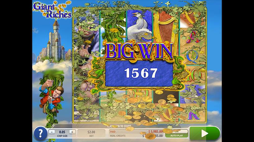 Giant Riches Slot Screenshot 3