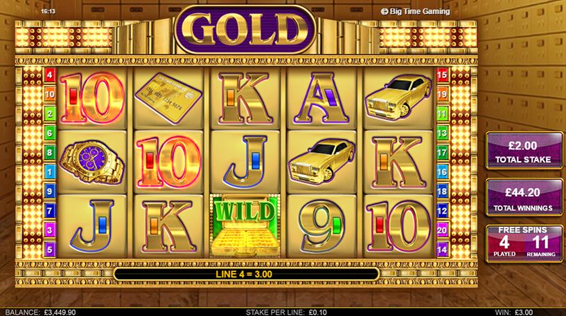 Gold Slot Screenshot 3