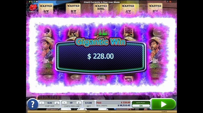 Gunsmoke Slot Screenshot 2