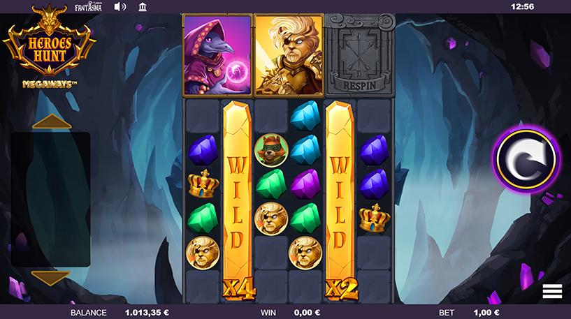 Heroes Hunt Megaways Screenshot 2