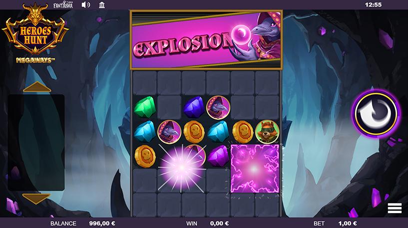 Heroes Hunt Megaways Screenshot 1