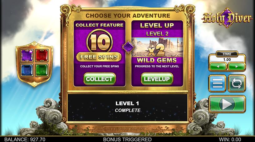 Holy Diver Slot Screenshot 2
