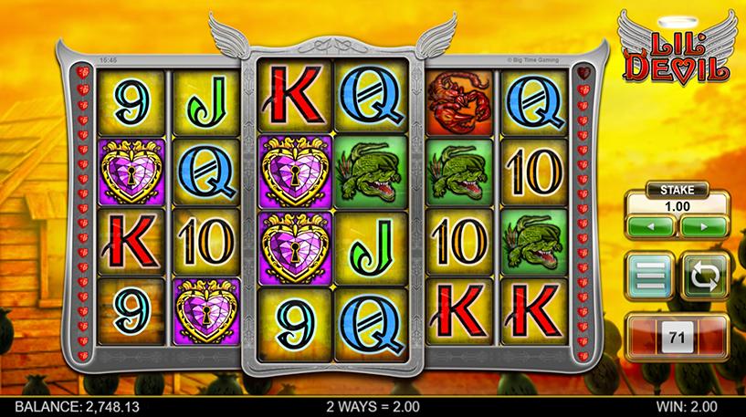 Lil' Devil Slot Screenshot 1