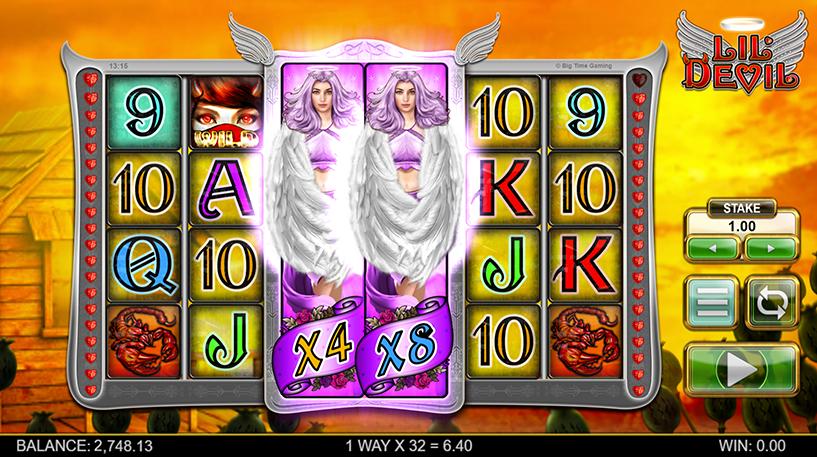 Lil' Devil Slot Screenshot 2