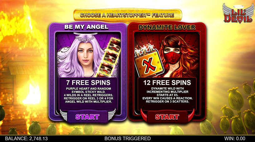 Lil' Devil Slot Screenshot 3