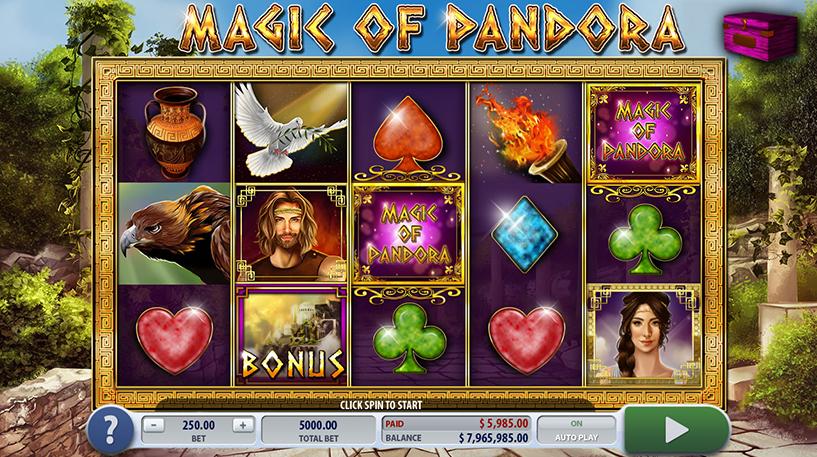 Magic of Pandora Slot Screenshot 2