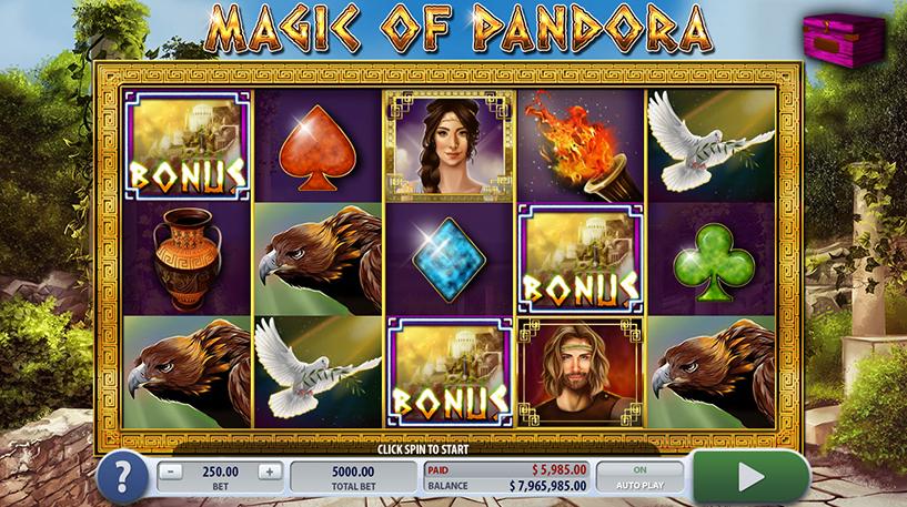 Magic of Pandora Slot Screenshot 3