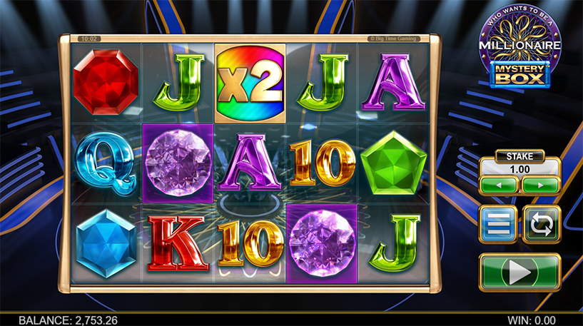 Who Wants to be a Millionaire Mystery Box Slot Screenshot 1