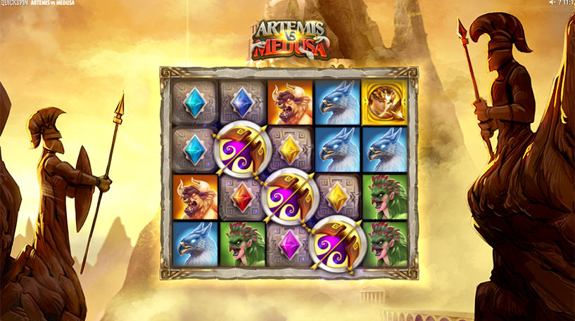Artemis Vs Medusa Slot Screenshot 2