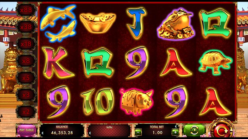 Cai Shen 88 Slot Screenshot 1