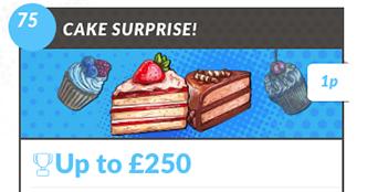 Cake Surprise Bingo