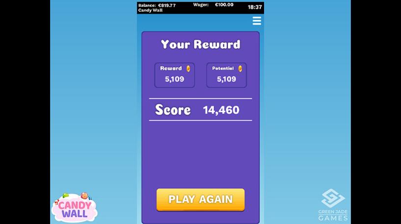 Candy Wall Slot Screenshot 1