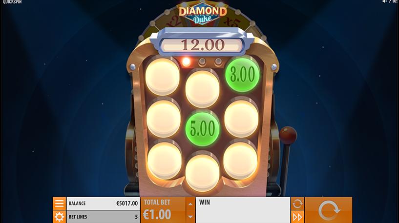 Diamond Duke Slot Screenshot 3