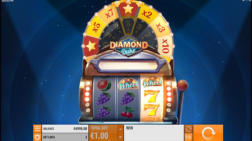 Diamond Duke Slot Screenshot 1