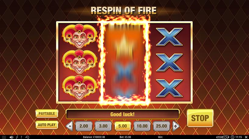 Fire Joker Slot Screenshot 2
