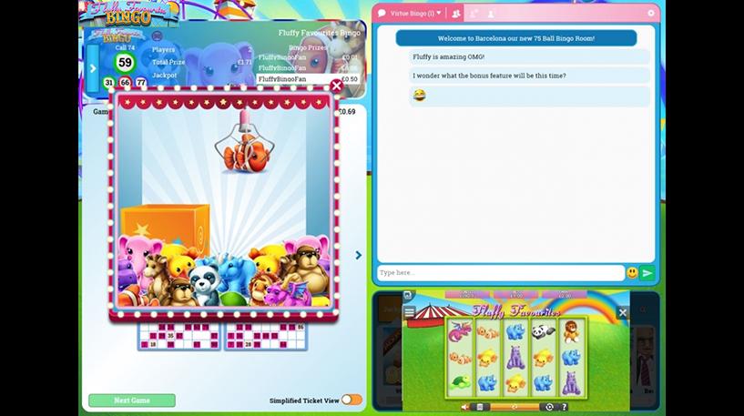 Fluffy Favourites Bingo Screenshot 1