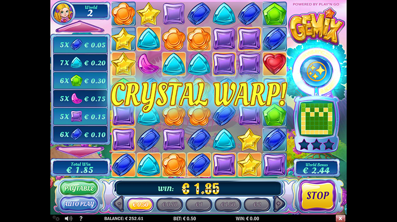 Gemix Slot Screenshot 2