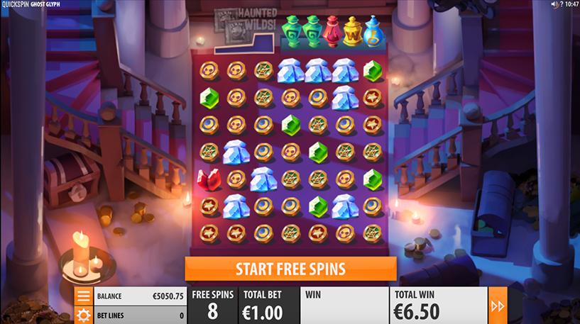 Ghost Glyph Slot Screenshot 1