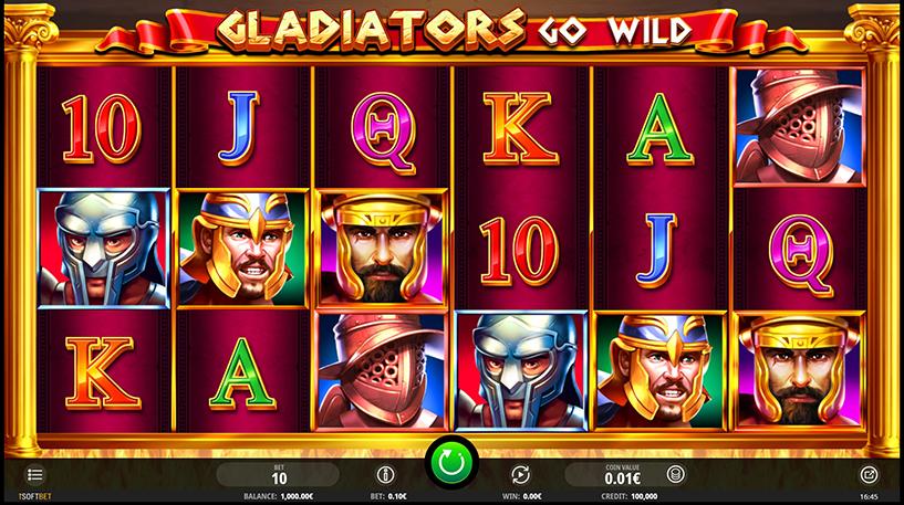 Gladiators Go Wild Slot Screenshot 2