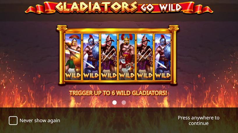 Gladiators Go Wild Slot Screenshot 3