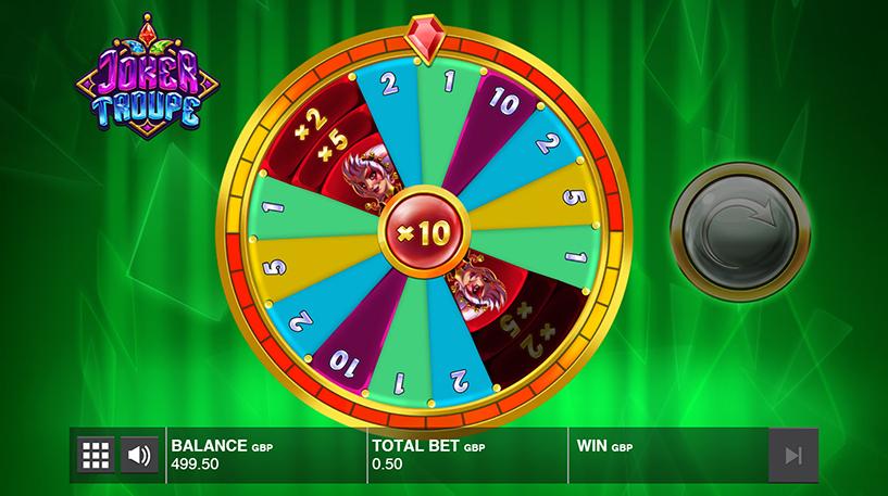 Joker Troupe Slot Screenshot 2