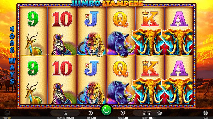Jumbo Stampede Slot Screenshot 3