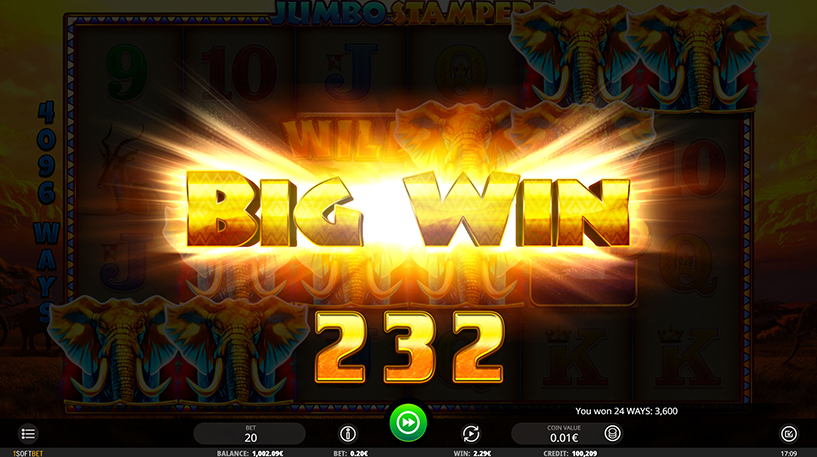 Jumbo Stampede Slot Screenshot 2