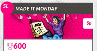 Made it Monday Bingo
