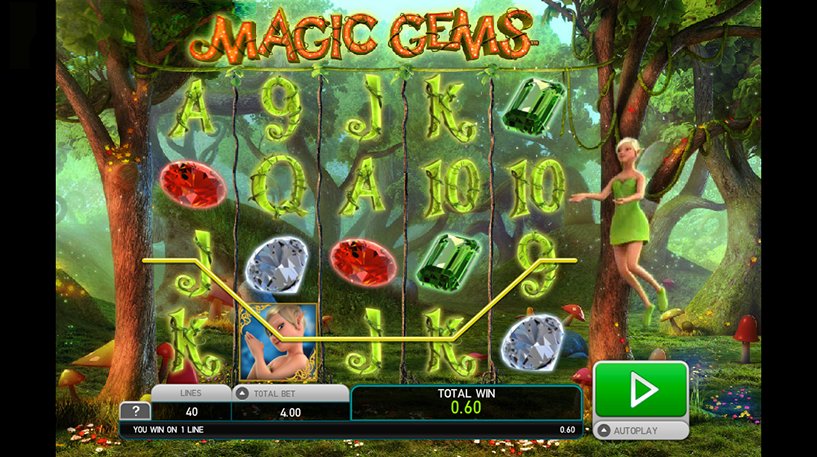 Magic Gems Slot Screenshot 3