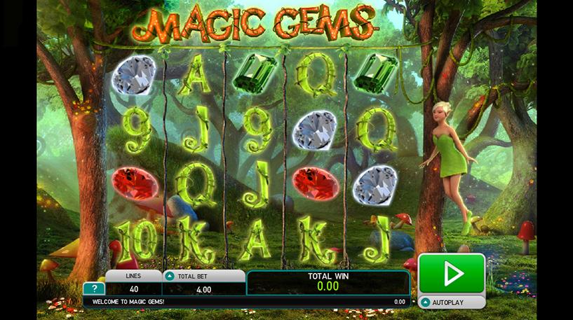 Magic Gems Slot Screenshot 2
