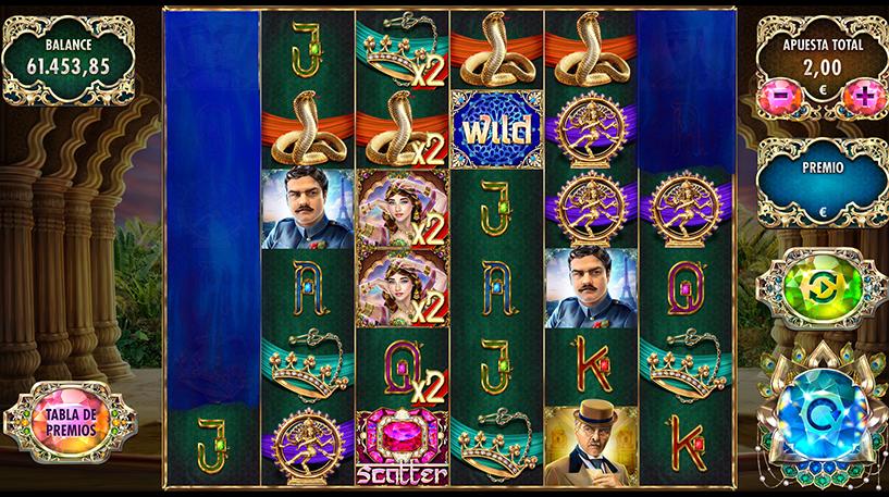 Mata Hari The Spy Slot Screenshot 3
