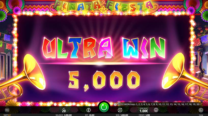 Piñata Fiesta Slot Screenshot 3