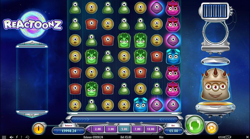 Reactoonz Slot Screenshot 1