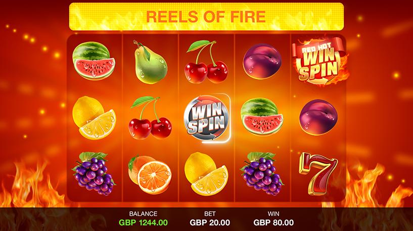 Red Hot Win Spin Slot Screenshot 2