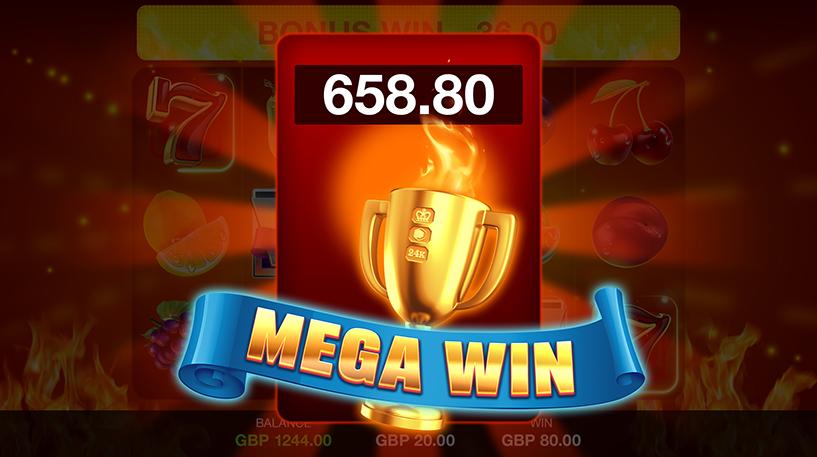 Red Hot Win Spin Slot Screenshot 1