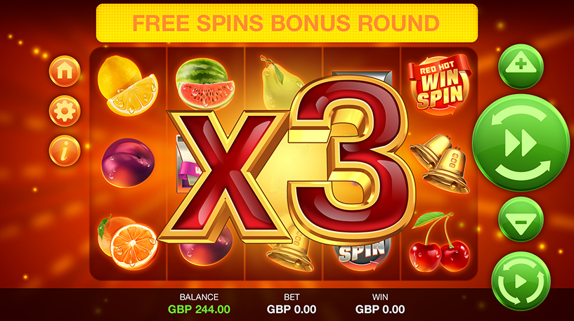Red Hot Win Spin Slot Screenshot 3