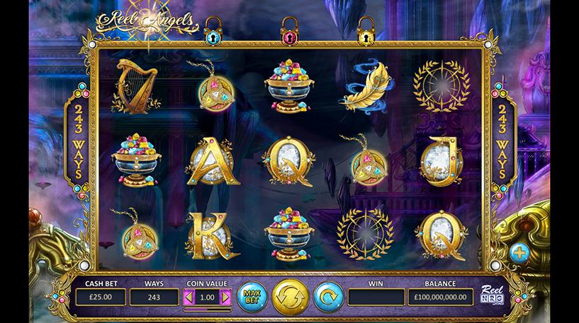 Reel Angels Slot Screenshot 2