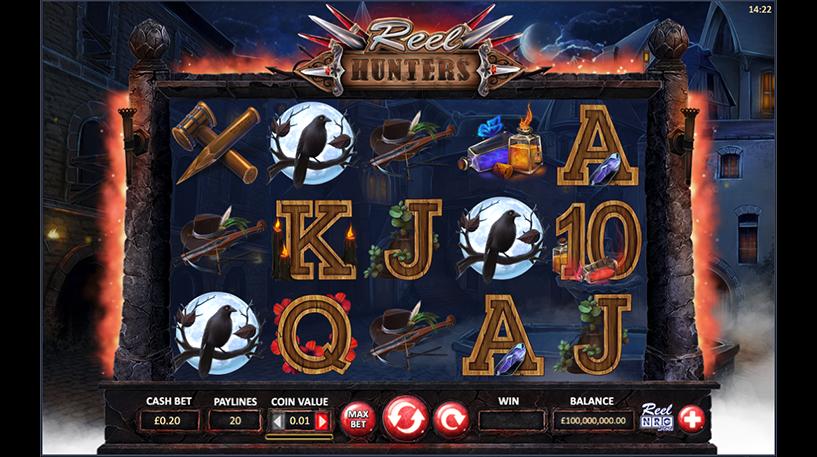Reel Hunters Slot Screenshot 1