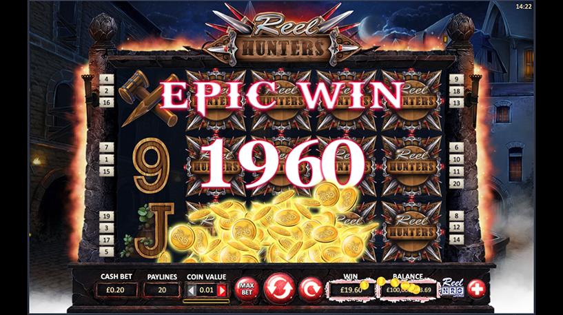Reel Hunters Slot Screenshot 2