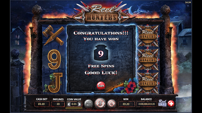 Reel Hunters Slot Screenshot 3