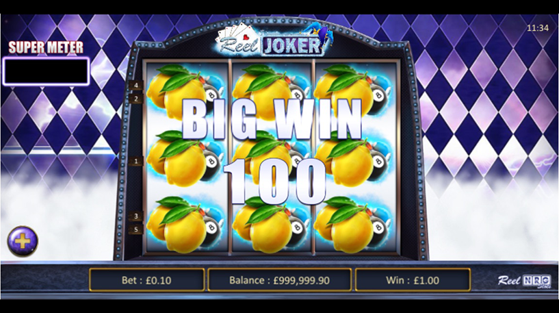 The Reel Joker Slot Screenshot 1