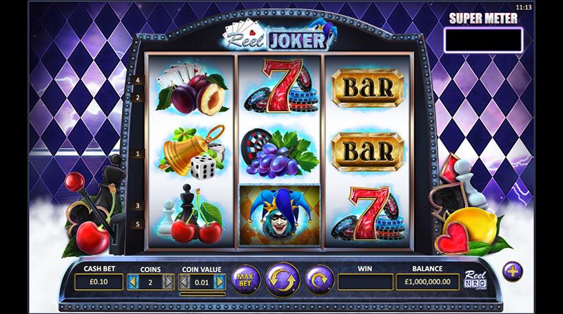 The Reel Joker Slot Screenshot 2