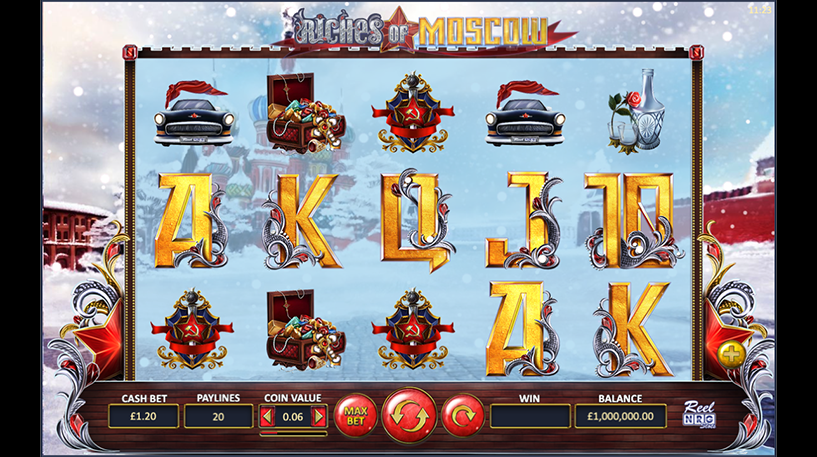Riches of Moscow Slot Screenshot 1