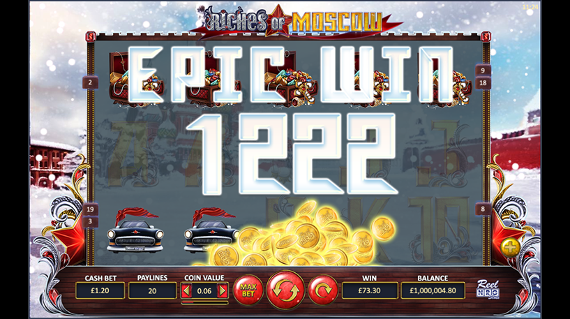 Riches of Moscow Slot Screenshot 3