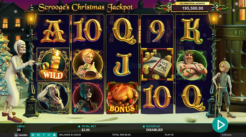Scrooge's Jackpot Slot Screenshot 3